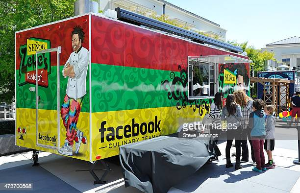Atmosphere at the Little Kids Rock Family Jam event honoring Chad Smith at Facebook HQ on May 16 2015 in Menlo Park California