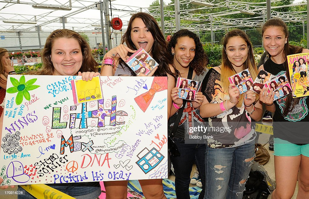 Little mix atmosphere at the little mix dna cd signing and meet and greet at walmart m4hsunfo