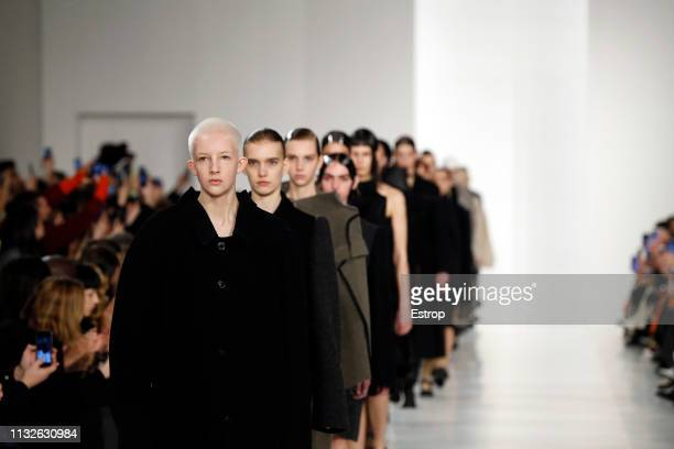 Atmosphere at the Maison Margiela show at Paris Fashion Week Autumn/Winter 2019/20 on February 27 2019 in Paris France