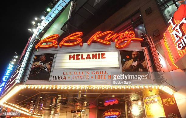 Atmosphere at the Melanie Safka-Schekeryk performance at B.B. King Blues Club & Grill on January 13, 2015 in New York City.