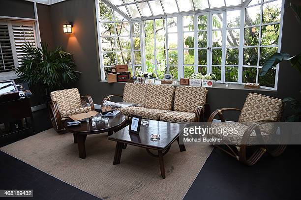 Atmosphere at The Modern And Meticulous Man hosted by Gabriel Chiu, Beverly Hills Plastic Surgery, Inc. At the Chateau Marmont on March 30, 2015 in...