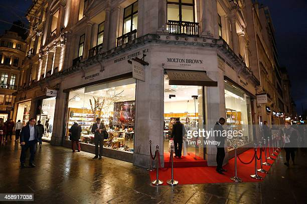 Atmosphere at 'The Molton Brown Splendid Christmas' Party' at the flagship store on Regent Street on November 13, 2014 in London, England.