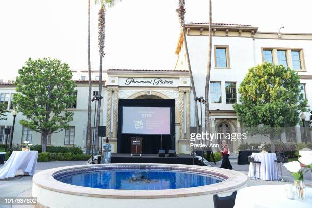 Atmosphere at the MPTF's Annual NextGen Summer Party at Paramount Pictures on August 16 2018 in Los Angeles California