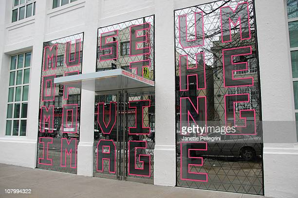 Atmosphere at The Museum of the Moving Image on January 11 2011 in the Queens borough of New York City