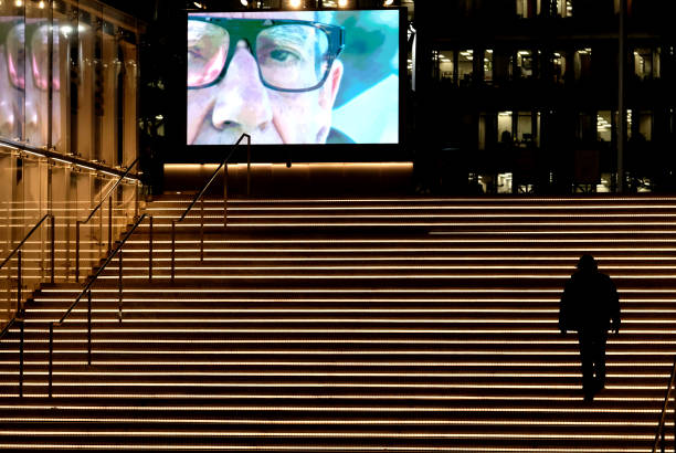 CA: The Music Center And Dublab Present An Outdoor Art Installation Of Brian And Roger Enos' 'A Quiet Scene' Video Collaboration