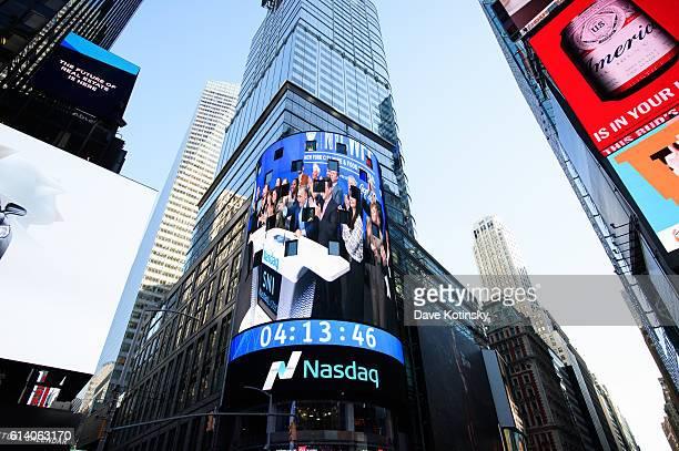 Atmosphere at the NASDAQ Closing Bell at NASDAQ on October 11 2016 in New York City