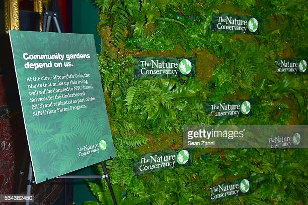 Atmosphere at The Nature Conservancy 2016 Gala Highlighting the Importance of Conservation for People and Nature at Cipriani 42nd Street on May 25...