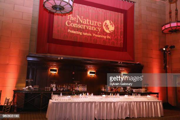 Atmosphere at The Nature Conservancy 2018 Gala Highlighting The Importance Of Conservation For People And Nature on June 21 2018 in New York City