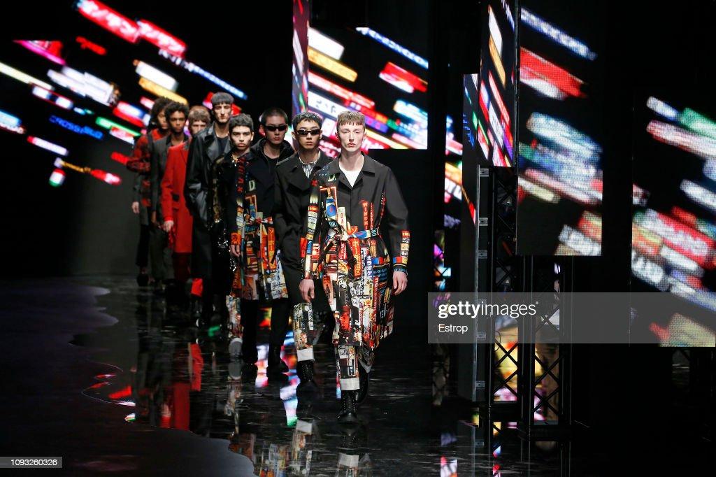 Neil Barrett - Runway - Milan Men's Fashion Week Autumn/Winter 2019/20 : ニュース写真