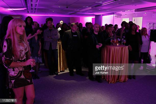 Atmosphere at the New York Chapter of the National Academy of Recording Arts and Sciences Open House Reception at New York Chapter Office September...