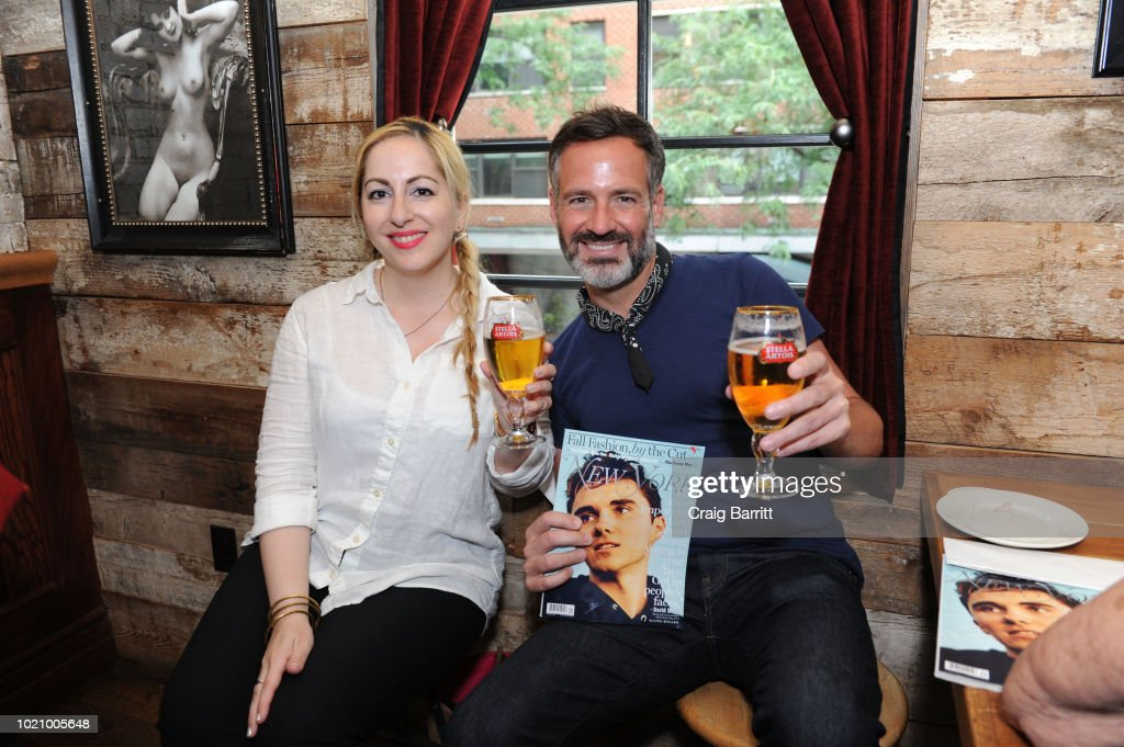 New York Magazine And Stella Artois Pours + Pairs Happy Hour