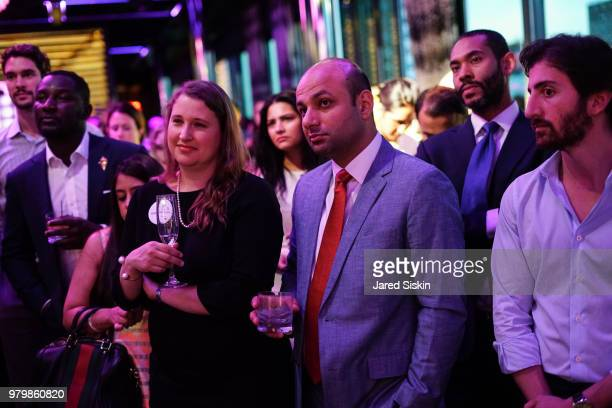 Atmosphere at The Next Generation Board of The TEAK Fellowship Presents A Midsummer Night at PhD Lounge at the Dream Downtown New York on June 20...