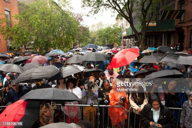 Atmosphere at the Notorious B.I.G. Street Naming in Brooklyn New York on June 10, 2019 in Brooklyn, New York. On June 10, 2019 in Brooklyn, New York....