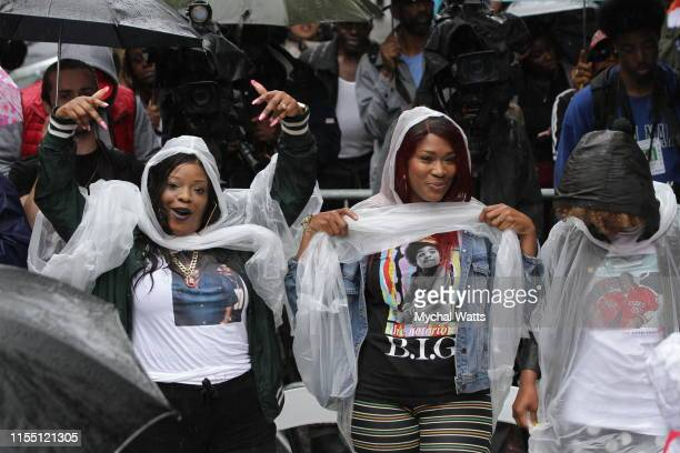 Atmosphere at the Notorious B.I.G. Street Naming on June 10, 2019 in Brooklyn, New York.