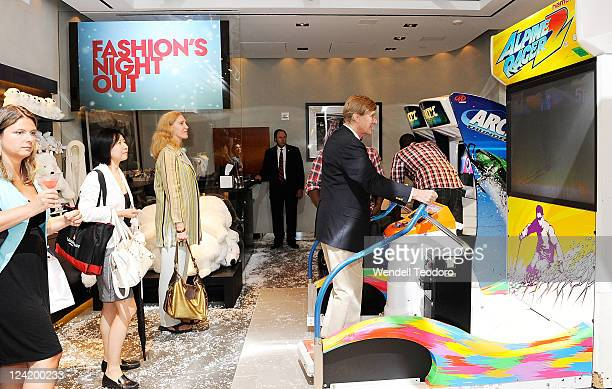 Atmosphere at the OC Concept Store during Fashion's Night Out on September 8 2011 in New York City