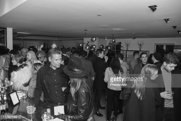 Atmosphere at the Oliver Peoples x Tasya van Ree Celebrates Who is Oliver Exhibition at LECLAIREUR on February 13 2019 in Los Angeles California