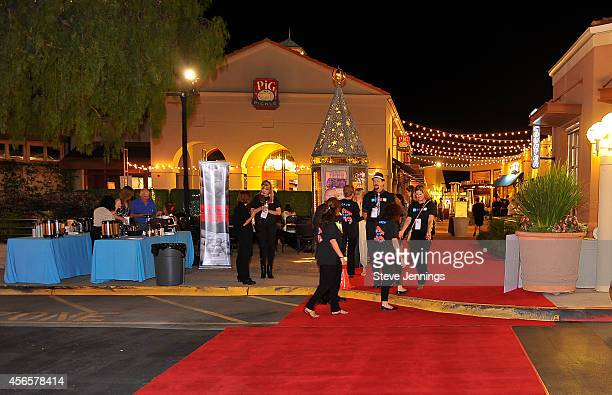 Atmosphere at the Opening Night of the Mill Valley Film Festival on October 2 2014 in Mill Valley California Sharp is celebrating high resolution at...