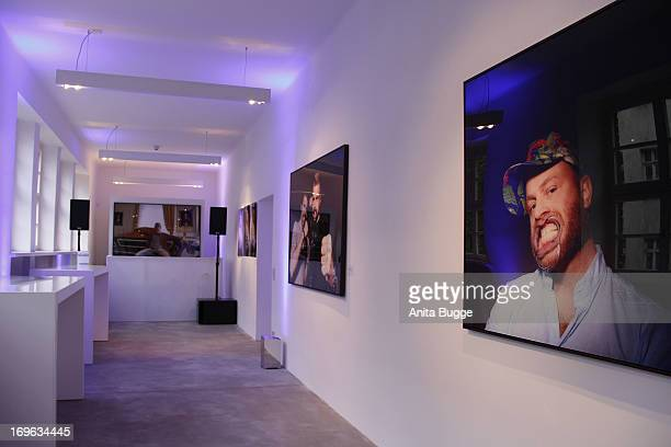 Atmosphere at the opening of the 'Niels Ruf Art Exhibition' at Camera Works on May 29, 2013 in Berlin, Germany.