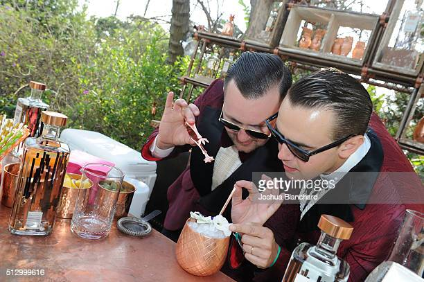 Atmosphere at the Oscars Viewing Party at the Private Residence of Jonas Tahlin CEO of Absolut Elyx on February 28 2016 in Los Angeles California