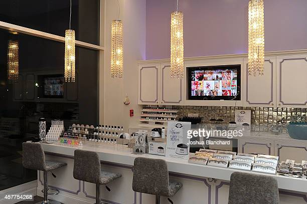 Atmosphere at The Painted Nail Flagship Store Launch at the W Hollywood on October 23 2014 in Hollywood California