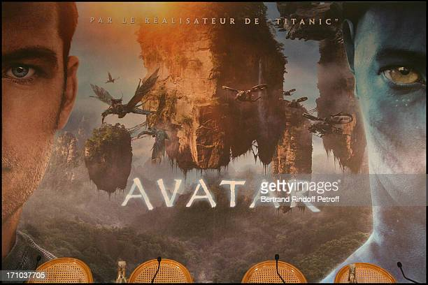 Atmosphere at The Paris Photocall For The Movie Avatar At The Hotel Bristol
