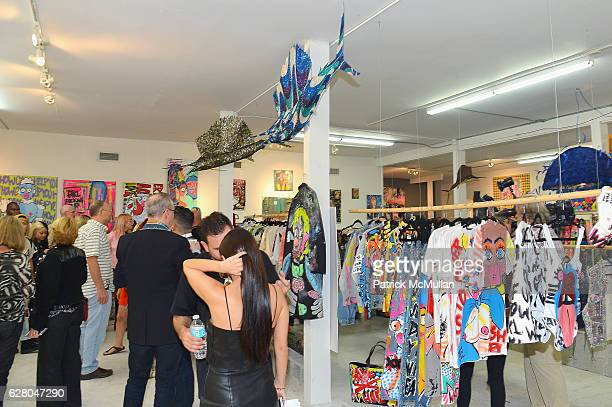 Atmosphere at the Patricia Field Art Basel Debut with Art Fashion Pop Up and Runway Presentation at The White Dot Gallery in Wynwood on December 1...