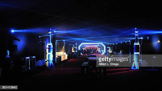Atmosphere at the Premiere Of Walt Disney Pictures And Lucasfilm's Star Wars The Force Awakens held on December 14 2015 in Hollywood California
