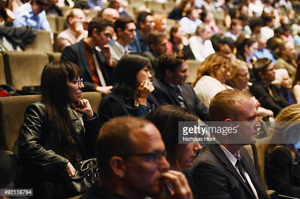 Atmosphere at the QA for the film Carol' during the 53rd New York Film Festival at Alice Tully Hall Lincoln Center on October 8 2015 in New York City