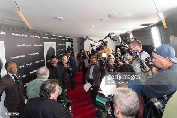 Atmosphere at the Roman J Israel Esquire New York Premiere at Henry R Luce Auditorium at Brookfield Place on November 20 2017 in New York City
