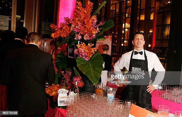 Atmosphere at the Rums of Puerto Rico booth at The 2009 James Beard Awards Gala at Avery Fisher Hall at Lincoln Center for the Performing Arts on May...