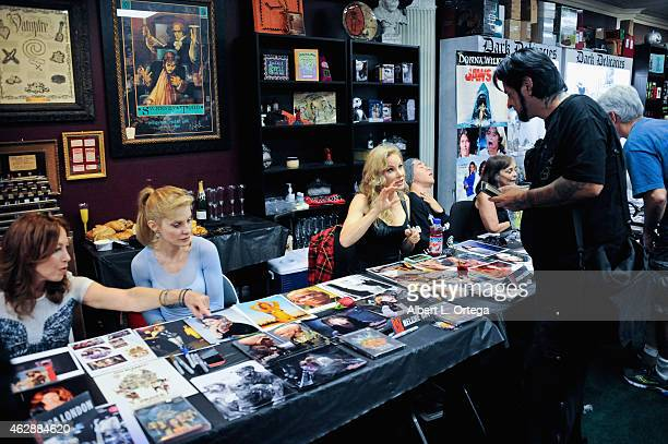 Atmosphere at the Second Annual David DeCoteau's Day Of The Scream Queens held at Dark Delicacies Bookstore on January 25, 2015 in Burbank,...