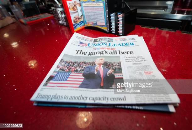 Atmosphere at the SiriusXM Broadcast of the 2020 New Hampshire Democratic Primary Live From Iconic Red Arrow Diner Day 2 on February 11 2020 in...