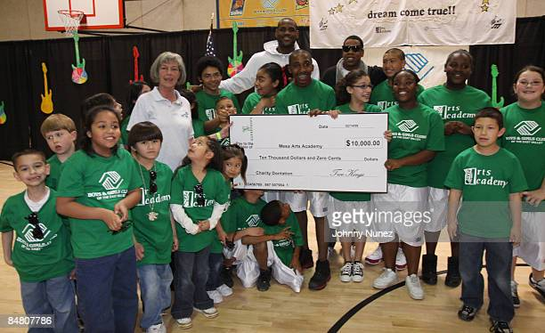 Atmosphere at the Sprite Green Instrument Donation on February 14 2009 in Mesa Arizona