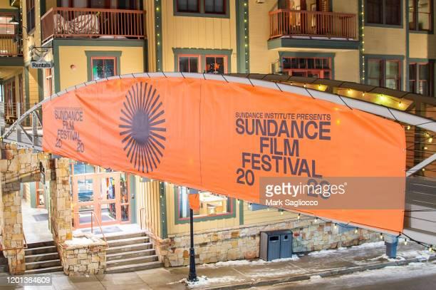 Atmosphere at the Sundance Film Festival on January 22 2020 in Park City Utah