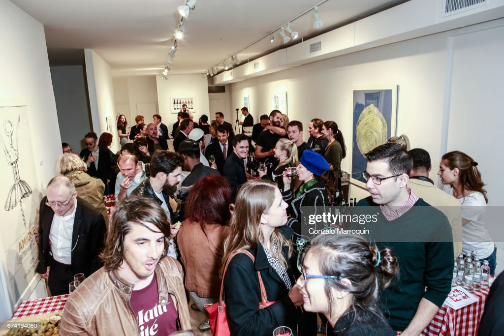 Swiss Wine Valais Loves New York hosted by Gregory de la Haba, Billy The Artist, Anthony Haden-Guest and Raul Zamudio : News Photo