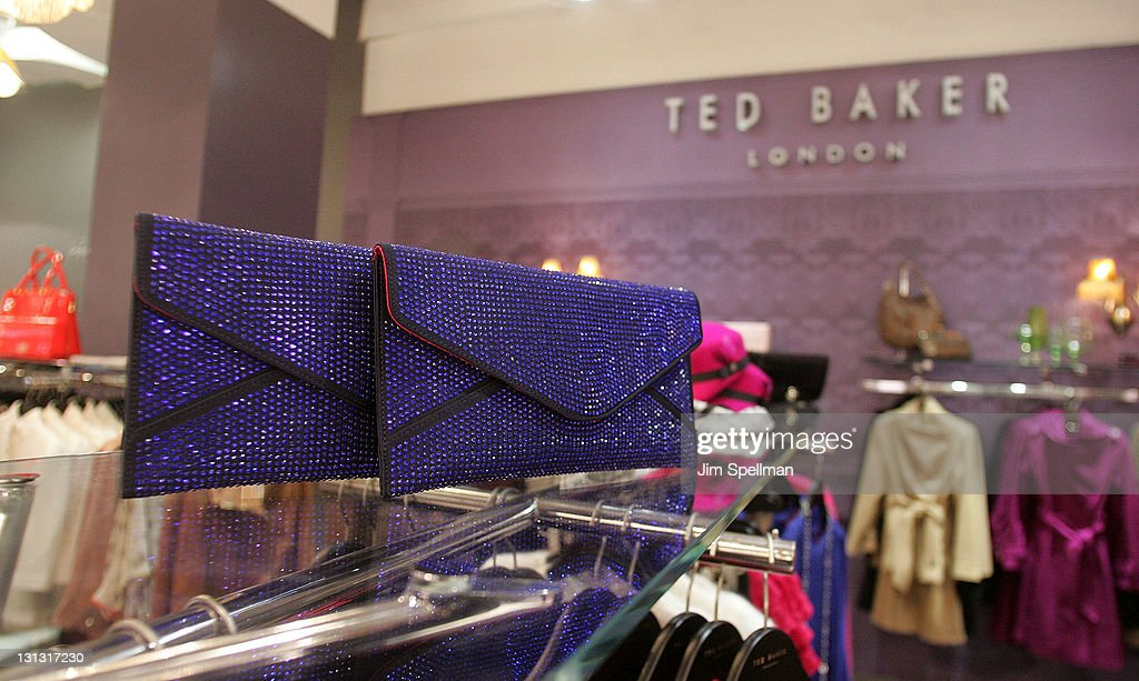88a375e8edda Atmosphere at the Ted Baker London shop opening at Bloomingdale s on ...