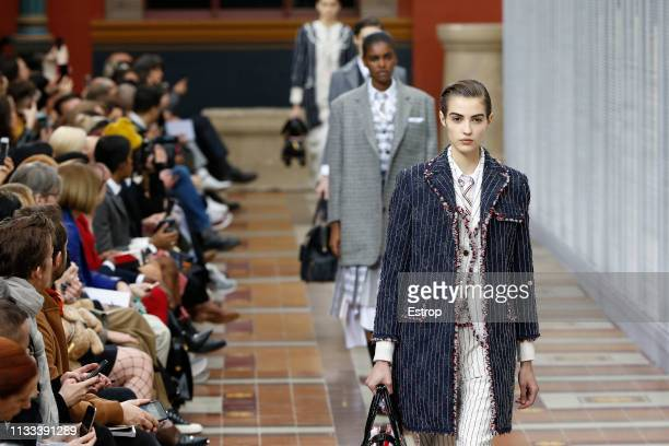 Atmosphere at the Thom Browne show at Paris Fashion Week Autumn/Winter 2019/20 on March 3 2019 in Paris France