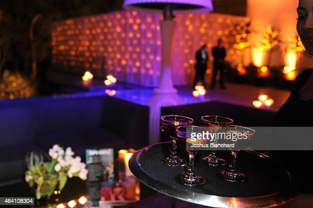 Atmosphere at the Treats Magazine PreOscar Party at the Treats Villa presented by OMNIA on February 21 2015 in Los Angeles California