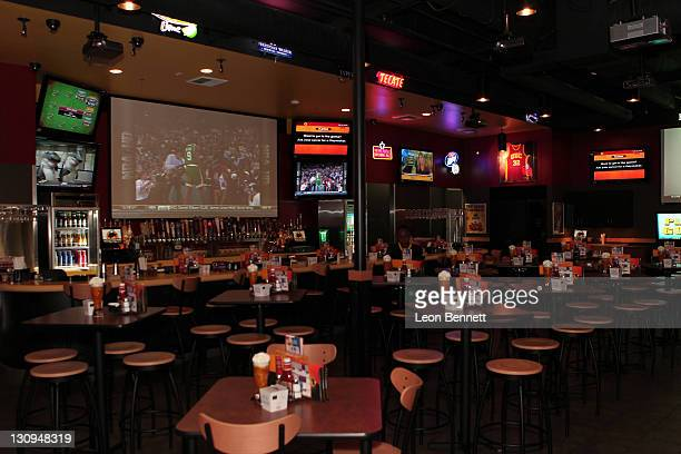 Atmosphere at the Trevor Ariza Foundation All Star Gala Inaugural Grand Opening of Buffalo Wild Wings Grill Bar at the New Baldwin Hill Crenshawn...