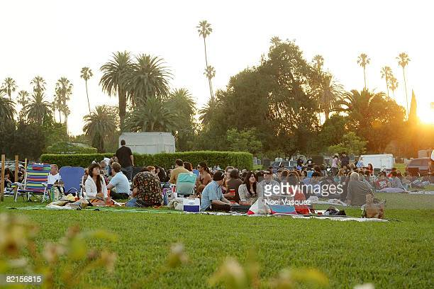 Atmosphere at the Tribute To Johnny Ramone at the Forever Hollywood Cemetery on August 1 2008 in Los Angeles California