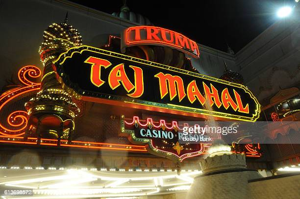 Atmosphere at the Trump Taj Mahal in Atlantic City, New Jersey that will close Monday October 10 2016 at 5:59am in Atlantic City, NJ at Trump Taj...