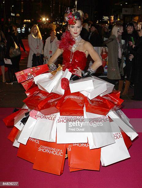 Atmosphere at the UK Premiere of Confessions of a Shopaholic at Empire Leicester Square on February 16 2009 in London England