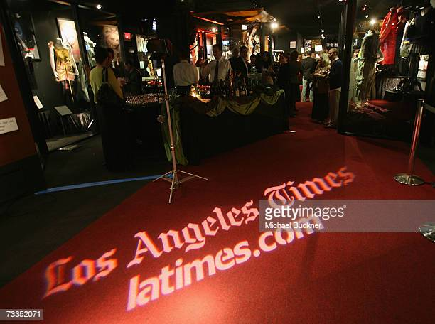 Atmosphere at the unveiling of the new awards season exhibit 'And The Winner Is' at the Hollywood Museum on February 15 2007 in Los Angeles California