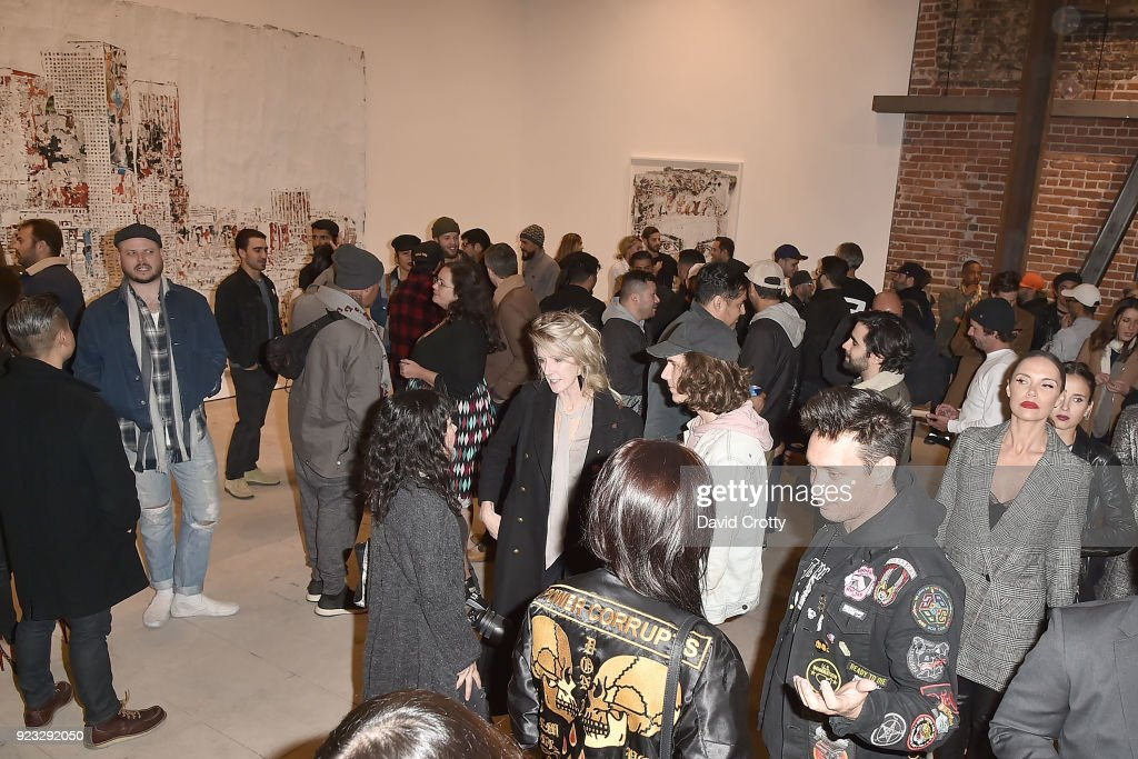 "Vhils ""Annihilation"" Opening Reception"