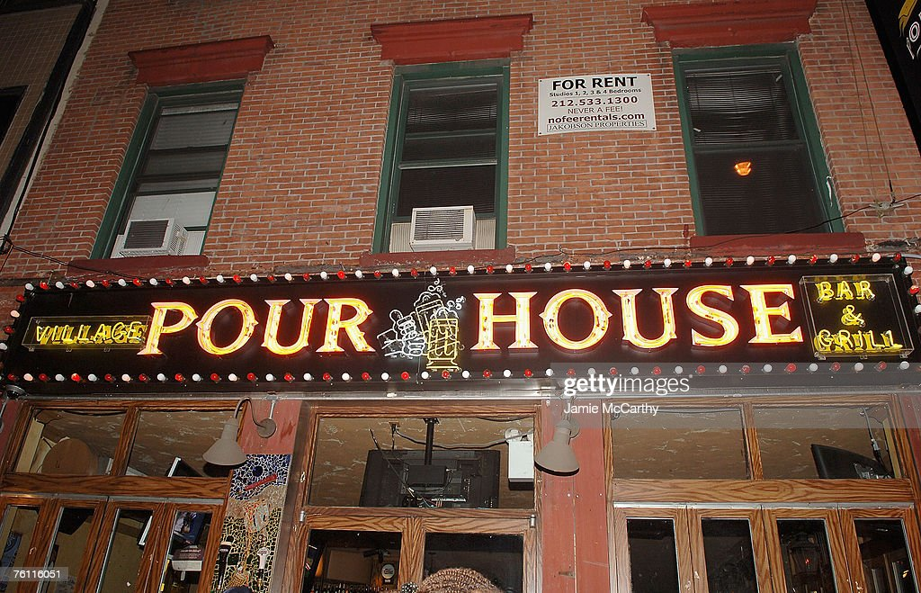 Village pourhouse 1st anniversary party with guest dj joel madden