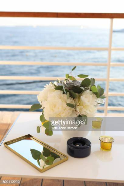 Atmosphere at the VIP dinner party hosted by iHeartMedia and MediaLink featuring The Weeknd Performance at Hotel du CapEdenRock in Antibes France...