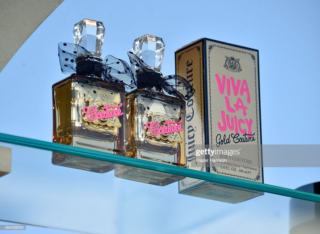 Viva La Juicy Gold Couture Launch With Alexandra Daddario : News Photo