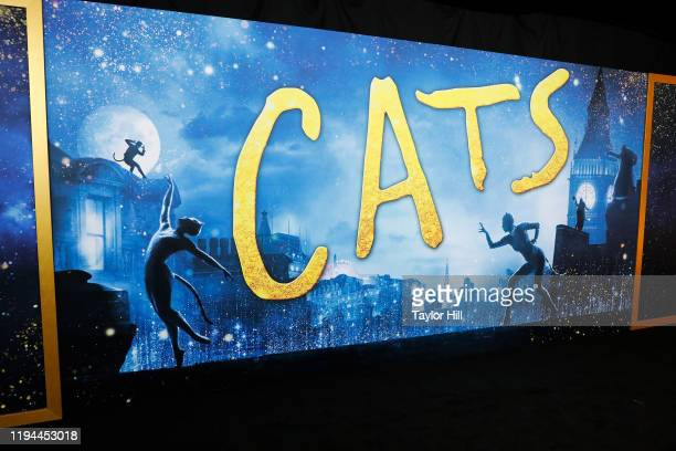 Atmosphere at the world premiere of Cats at Alice Tully Hall Lincoln Center on December 16 2019 in New York City