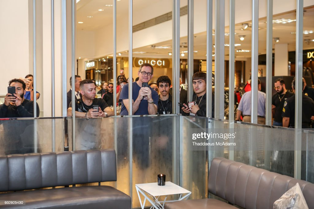 Atmosphere at The Young Money Merch capsule celebration at Neiman Marcus Bal Harbour on March 16, 2018 in Bal Harbour, Florida.