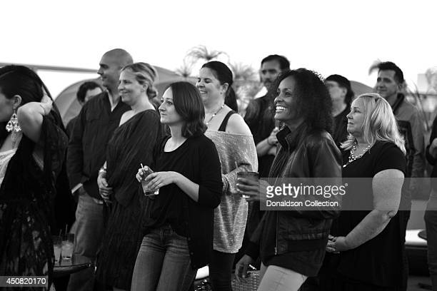 """Atmosphere at the Zappa Records release of Holland Greco's album """"Volume 1"""" on the roof of the Andaz Hotel, formerly the Riot House, on June 17, 2014..."""